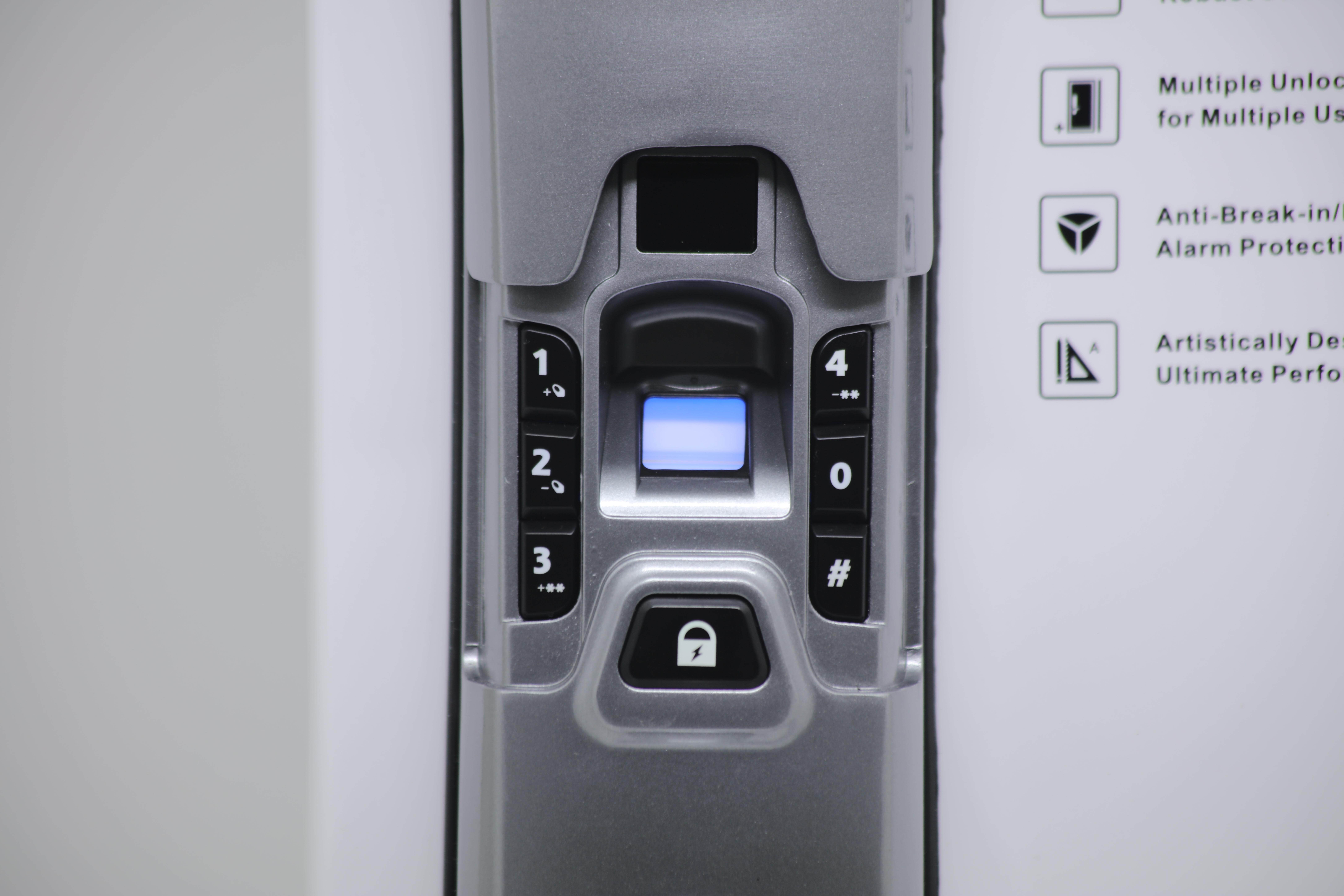 Fechadura Biométrica Digital Corporate X1 - Beluni